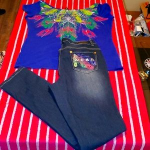 Rocawear outfit throwback nwot Rare
